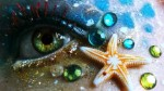 eyes_beach_mermaid_starfish_m17887