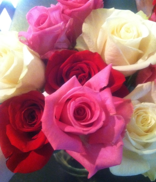 roses from Brian